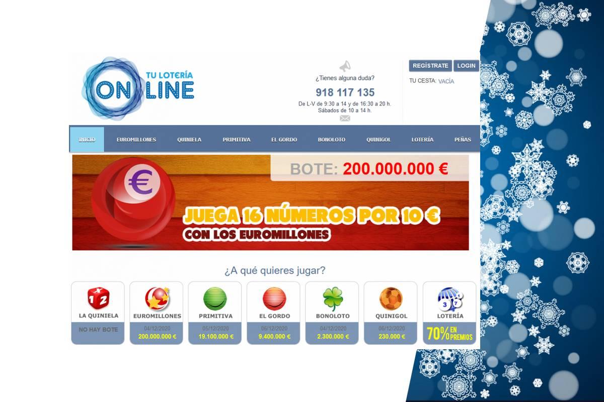 paginas web loteria