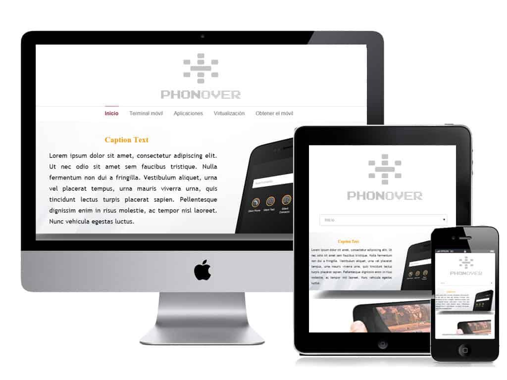 diseño web phonover