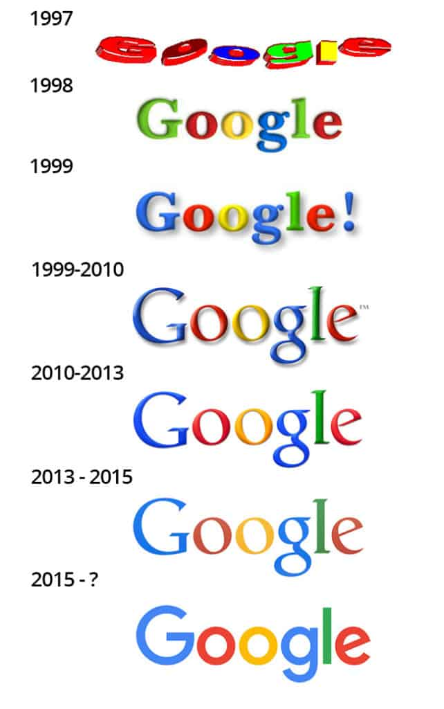 historia logo google