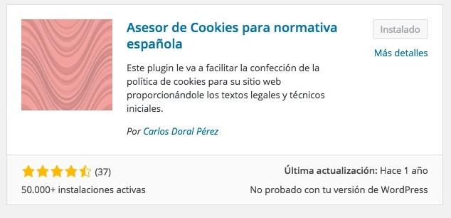 asesor cookies normativa espanola