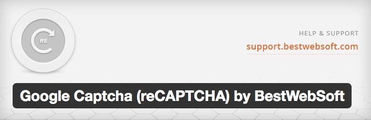 plugin recaptcha google
