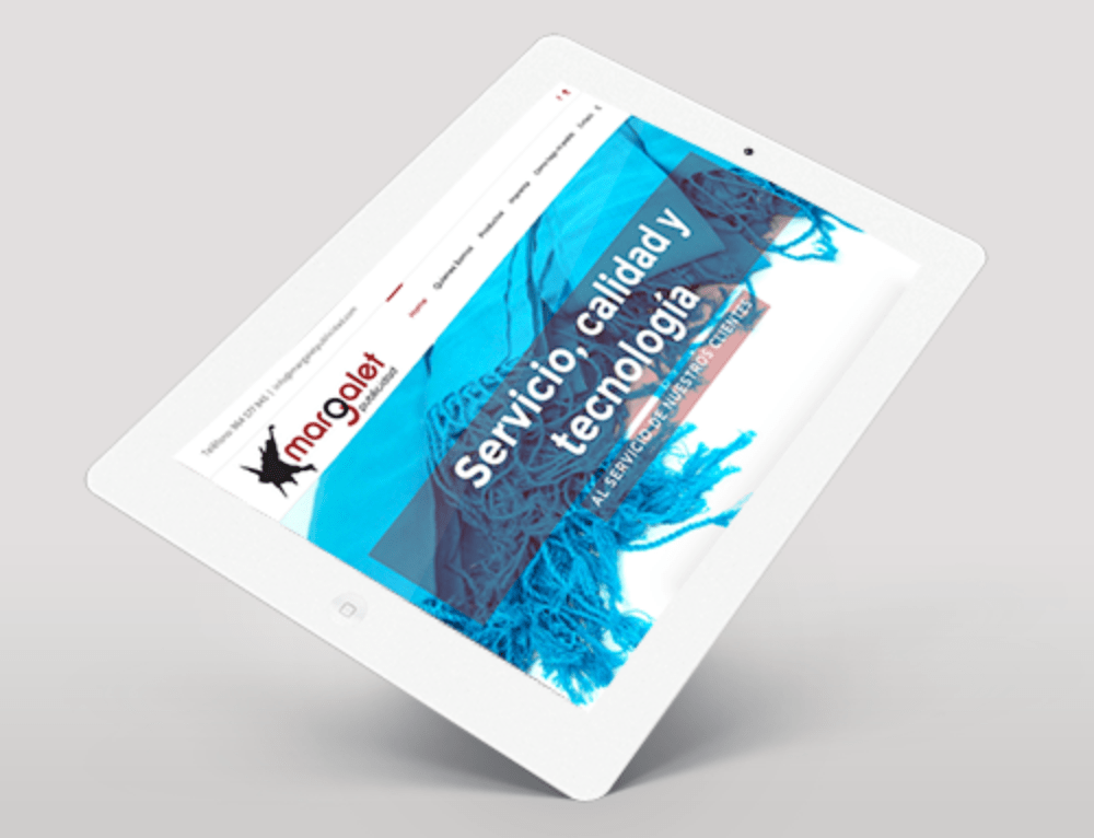Diseño web Margalet