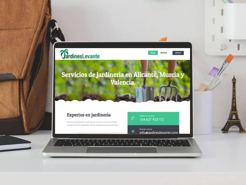 pagina web alicante jardineria