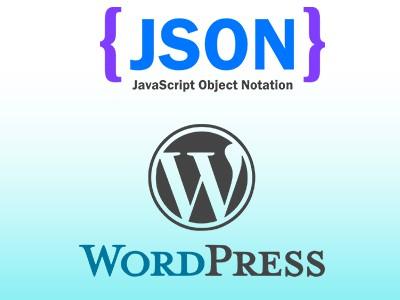 Como pasar de JSON a Wodpress y no morir en el intento
