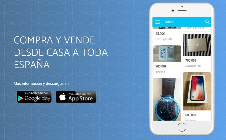 Tráelo App para Android y iOS