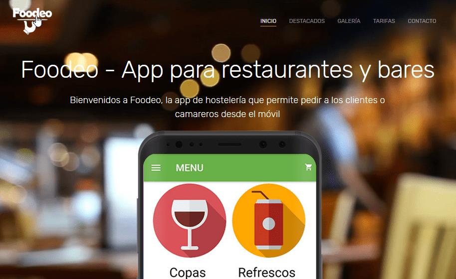App para restaurantes – Foodeo
