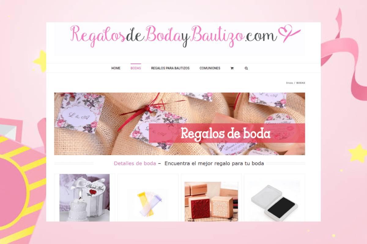 Página web Bodas y Bautizos