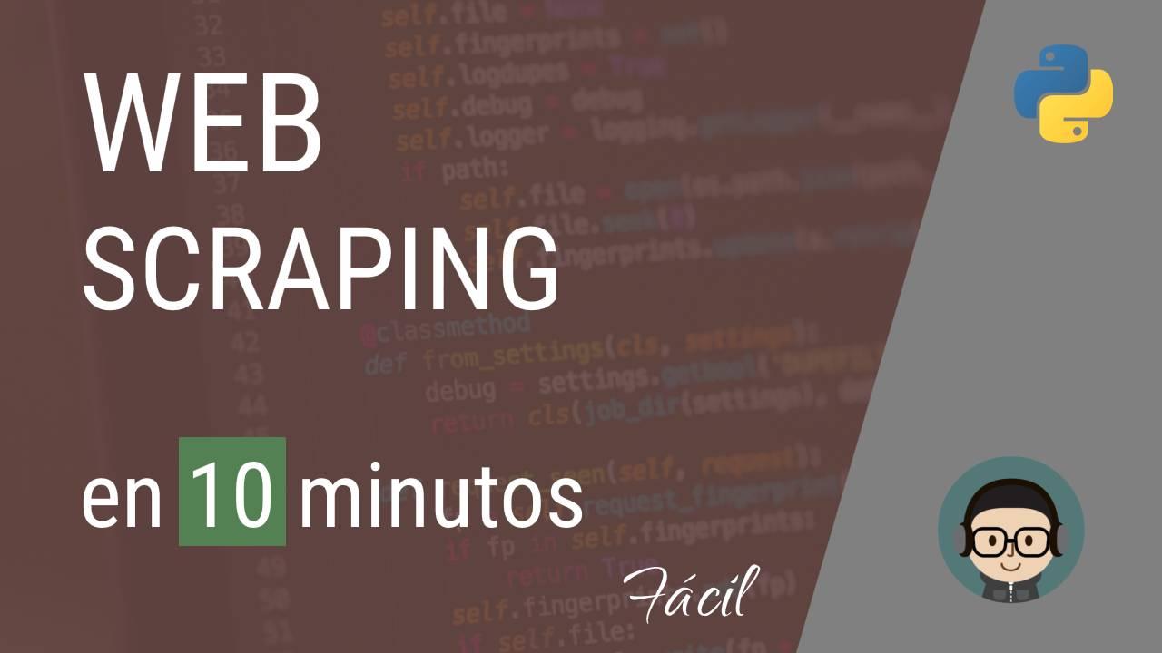¿Qué es el web scraping? Tutorial y ejemplo práctico